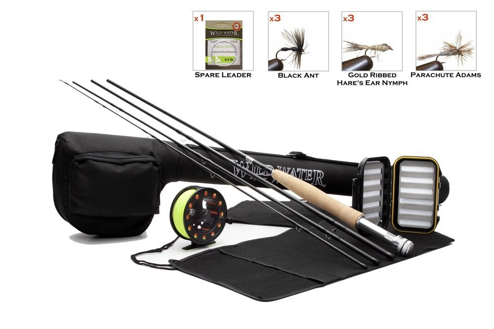 Wild Water Fly Fishing Complete 5-6 Starter Package